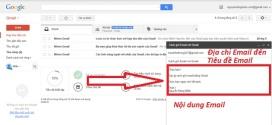 Cách gửi email bằng Gmail