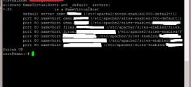 Liệt kê các website đang chạy trên Apache