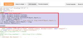 Cách chặn blogspot tự động đổi đuôi .COM