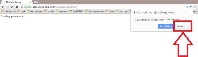 cach phong tranh lay mat khau Gmail tren Chrome