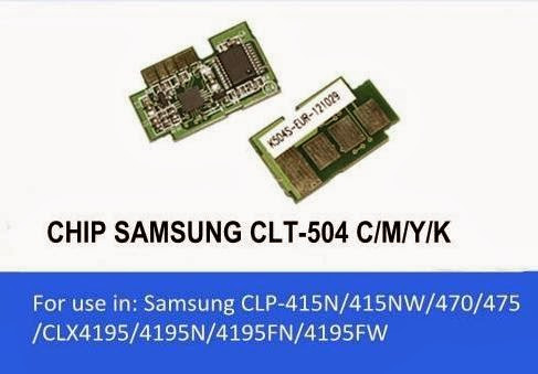 Chip mực Samsung CLP-415NW