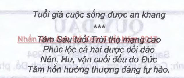 Tuổi Nhâm Thân Năm 2017 Nam Mạng