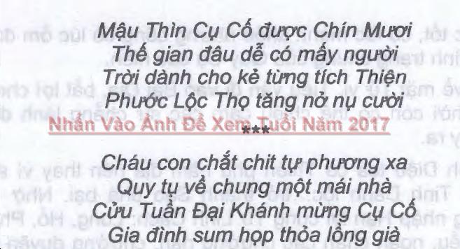 Tuổi Mậu Thìn Năm 2017 Nam Mạng